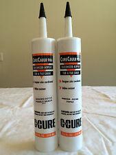 CureCaulk 986 Caulking Color Match C-Cure Grout White #25 Sanded-10.5oz