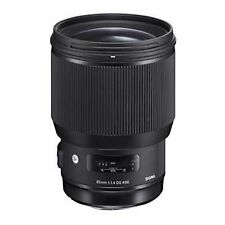 Sigma Art Camera Lenses 85mm Focal