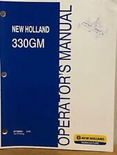 New Holland 330gm Finish Mowers Operators Manual