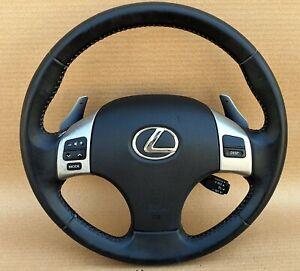 Lexus IS250 2007 Steering Wheel with multimedia control buttons oem Jdm used