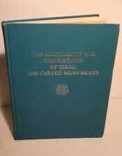 1982 Carved Monuments & Inscriptions of Tikal-Mayan Ruins-Archaeology-RARE 1st