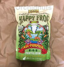 New 6-4-5 Formula Happy Frog All Purpose Organic Fertilizer 4-Lb Bag