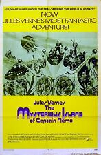 MYSTERIOUS ISLAND OF CAPTAIN NEMO 1973 Omar Sharif US 1-SHEET POSTER