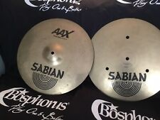 "Sabian 14"" AAX Fast Hi Hats (Cymbals, Pair)"