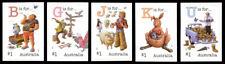 2017 Fair Dinkum Aussie Alphabet Part 3 - Set of 5 Booklet Stamps - MUH