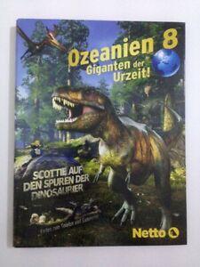 Netto - Ozeanien 8 Giganten der Uhrzeit! - Album Sammelalbum Sammelheft (leer)