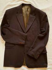 """Jaeger Mens 100% Wool Brown Blazer UK 42""""R"""