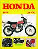 1974 Honda XL100 CycleServ Shop Manual XL100 Repair Service Book