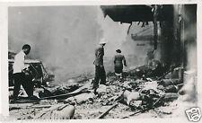 China photograph Shanghai bomb damage circa beginning WWII HPP2
