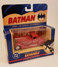 Corgi 1930's DC Comics Rare RED Batmobile #BMBV1 Diecast Car 1:43 Scale NEW!