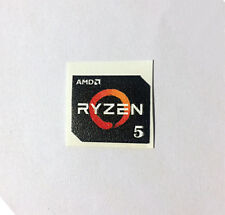 AMD RYZEN 5 1400/1500X/1600/1600X Case Badge Sticker Aufkleber Logo