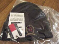 KITH x Tommy Hilfiger Crest Beanie Cap Navy Classic Rib Knit Brand New NWT