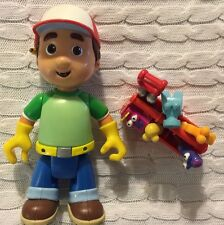 Handy Manny Talking Figure Toolbox Tools Lot Disney toy lot