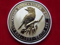 Australia. 1995  2 oz - Silver Kookaburra..  BU/SPECIMEN