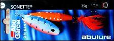 RARE ABU GARCIA SONETTE spinner 35 g (1 - 1/4 oz) SKB colour (dressed treble!)