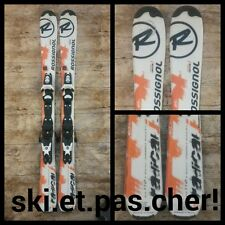 ski enfant/junior ROSSIGNOL RADICAL J 2015 orange/blanc  taille:80cm au 150cm