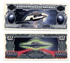 U F O  Extraterrestrial  MILLION   DOLLAR  BILL