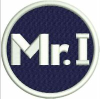 DETROIT TIGERS MR. I  PATCH MIKE ILITCH MEMORIAL ON-FIELD JERSEY STYLE LOGO NAVY