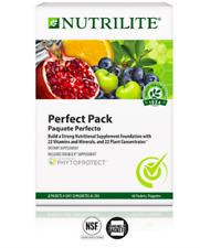 Vitaminas Para Mujer y Hombre Naturales Adultos Organicas Nutrilite Perfect Pack