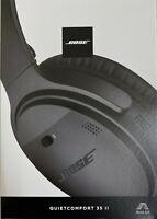 BoseQuietComfort 35 II Wireless Noise-Canceling Black Headphones BRAND NEW