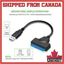 USB 3.0 to SATA Cable 22 Pin 15+7 2.5 Inch SATA3 Hard Drive Adapter SATA to USB