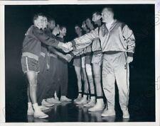 1952 College Basketball Las Salle vs Dayton for NIT Contest Press Photo