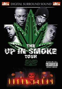 The Up in Smoke Tour Region 4 DVD New (Dr Dre/Snoop Dogg/Eminem/Ice Cube)