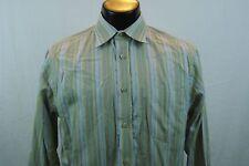EXPRESS Dress Shirt - Multi-Color Stripes - M