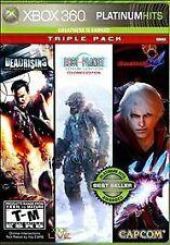 NEW Capcom Platinum Hits Triple Pack (Xbox 360, 2009)