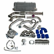 CXRacing Turbo Kit For 1991-1994 Nissan S13 240SX with Stock KA24DE DOHC Engine