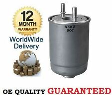 FOR RENAULT FLUENCE MEGANE SCENIC & GRAND SCENIC CC DCi 2005--> NEW FUEL FILTER