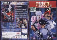 DVD ANIME/MANGA CYBERPUNK ACTION-CYBER CITY  ghost in the shell,bubblegum crisis