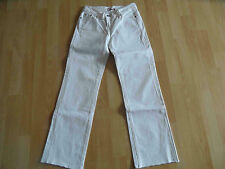 BLUE CULT coole Jeans weiß Gr. 24 TOP OA1