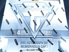 2013-14 PANINI TITANIUM HOCKEY HOBBY 8 BOX SEALED CASE