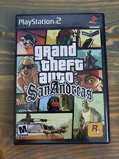 Grand Theft Auto San Andreas (Sony PlayStation 2, 2004) Ps2 Gta Complete Cib