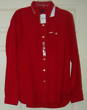Ralph Lauren Polo Tomahawk Red Shirt 100% Cotton M  NWT