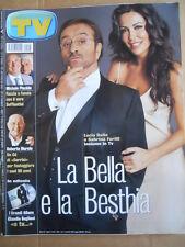 TV Sorrisi e Canzoni n°5 2002 Sabrina Ferilli Lucio Dalla Roberto Murolo   [D54]