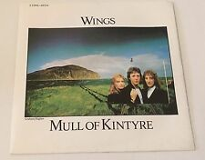 "WINGS - MULL OF KINTYRE - French Parlophone 7"" P/S 1977 NM/Mint old shop stock"