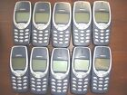 JOB LOT OF 10 X NOKIA 3310/30 - MOBILE PHONE ONLY, FULLY BENCH TESTED. & NEW BAT
