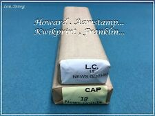 Howard Personalizer Type ( 18pt. News Gothic ) Hot Foil Stamping Machine