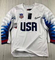 NIKE USA Mens National Hockey Team Jersey Olympics Shirt Small NWT msrp $130