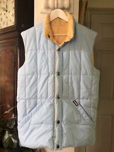 Original Puffa Gilet Reversible Jacket Unisex. Size Medium.