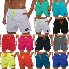 US Mens Swim Trunks Shorts Swimming Board Boxers Beach Drawstring Short Pants