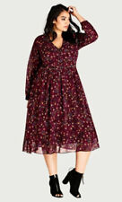 City Chic Boho Plus Size Dresses for Women