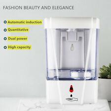 Wall-Mount Automatic IR Sensor Liquid Soap Dispenser Touch-free Shampoo Pump