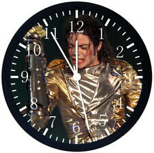 Michael Jackson Black Frame Wall Clock Nice For Decor or Gifts Z121
