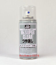 GSI Creos MR HOBBY ACRYLIC SPRAY 170ml SUPER CLEAR FLAT MATT B514