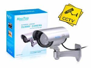 HooToo HT-DC002 CCTV Indoor/Outdoor Authentic Looking Dummy Camera