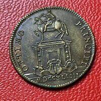 #4172 - RARE - Jeton Louis XVI Optimo Principi TTB