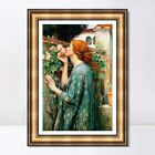 """Framed Art The Soul of The Rose1908 by John William Waterhouse Wall Art 24""""x32"""""""